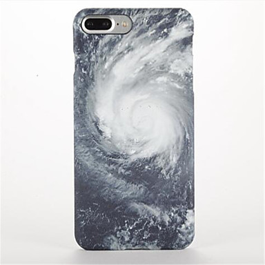 Pouzdro Uyumluluk Apple iPhone 7 Plus iPhone 7 Buzlu Temalı Arka Kapak Gökyüzü Manzara Sert PC için iPhone 7 Plus iPhone 7 iPhone 6s Plus