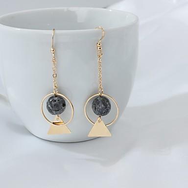 Κρεμαστά Σκουλαρίκια Μοντέρνα Euramerican Κράμα Geometric Shape Χρυσό Κοσμήματα Για Πάρτι Καθημερινά 1 ζευγάρι