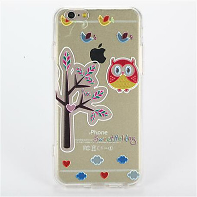 Na Wzór Kılıf Etui na tył Kılıf Sowa Twarde PC na Apple iPhone 7 Plus iPhone 7 iPhone 6s Plus iPhone 6 Plus iPhone 6s iphone 6
