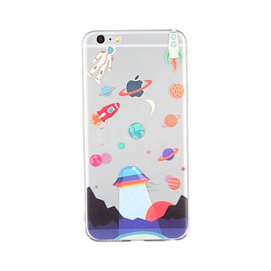 Pouzdro Uyumluluk Apple Temalı Arka Kapak Karton Yumuşak TPU için iPhone 6s Plus iPhone 6s iPhone 6 Plus iPhone 6 iPhone SE/5s iPhone 5