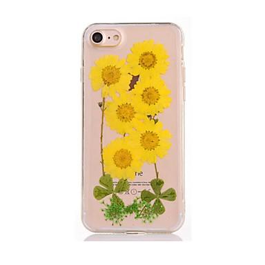 Varten DIY Etui Takakuori Etui Kukka Pehmeä TPU varten AppleiPhone 7 Plus iPhone 7 iPhone 6s Plus iPhone 6 Plus iPhone 6s iPhone 6 iPhone