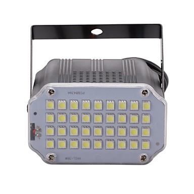 U'King 10W Oświetlenie sceniczne LED 3D Łatwa instalacja Aktywacja za pomocą dźwięku Zimna biel 110-240V