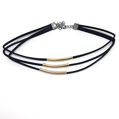 Pentru femei Floare Coliere Choker  -  Γεωμετρικά Design Unic Stil Atârnat Auriu Argintiu Coliere Pentru Nuntă Petrecere Ocazie specială