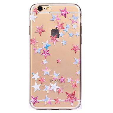 Etui Käyttötarkoitus Apple iPhone 7 Plus iPhone 7 Läpinäkyvä Kuvio Takakuori Geometrinen printti Pehmeä TPU varten iPhone 7 Plus iPhone 7