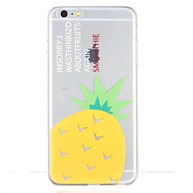 Varten Kuvio Etui Takakuori Etui Hedelmä Pehmeä TPU varten Apple iPhone 6s Plus iPhone 6 Plus iPhone 6s iPhone 6 iPhone SE/5s iPhone 5