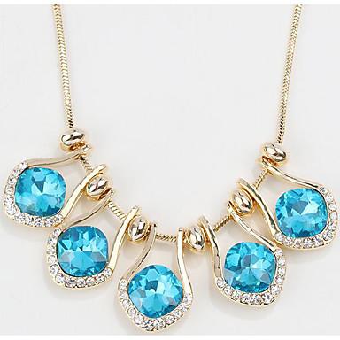 Kadın's Uçlu Kolyeler Kristal Mücevher Eşsiz Tasarım Mücevher Uyumluluk