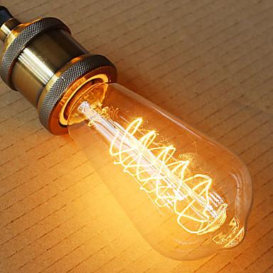 st64 e27 60w edison lumina art deco (220v)