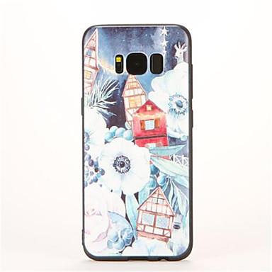 Için Temalı Pouzdro Arka Kılıf Pouzdro Manzara Yumuşak TPU için Samsung S8
