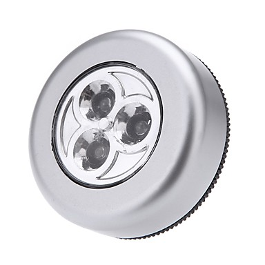 1pc Night Light LED Batterie AAA alimentate Armadio da cucina Armadio Credenza Moderno / Contemporaneo