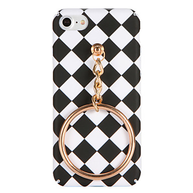 Varten DIY Etui Takakuori Etui Geometrinen printti Kova PC varten AppleiPhone 7 Plus iPhone 7 iPhone 6s Plus iPhone 6 Plus iPhone 6s