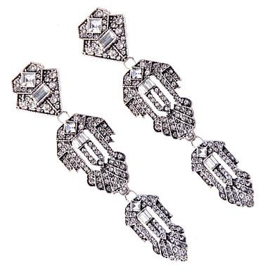 Kadın's Damla Küpeler Mücevher Moda Bohemia Stili Euramerican Sentetik Taşlar Mücevher Mücevher Uyumluluk Düğün Parti Özel Anlar