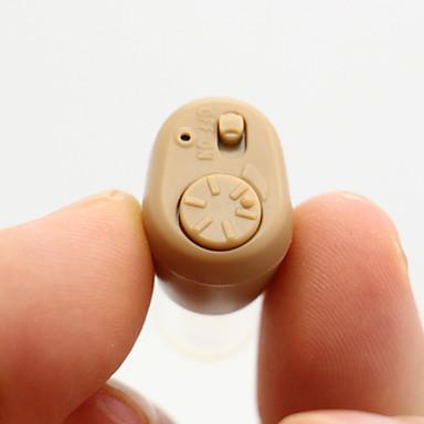 ك-86 مصغرة لهجة قابل للتعديل وتعزيز الصوت حجم المساعدات الصم مكبر للصوت السمع أفضل غير مرئية في الأذن