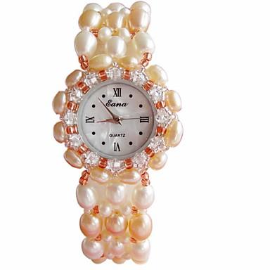 Kadın's Moda Saat Bilek Saati Quartz Açık Yeşil Bant Beyaz