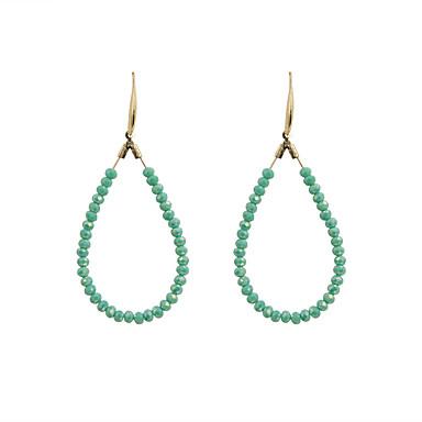 Dame Cercei Picătură La modă Euramerican Cristal Aliaj Circle Shape Bijuterii Pentru Nuntă Petrecere Zilnic Casual Sport
