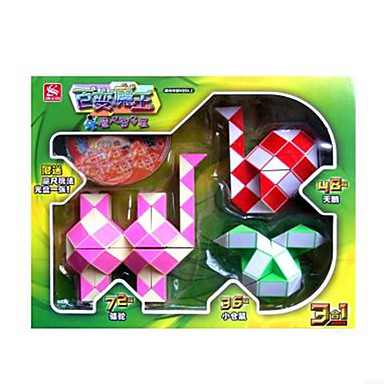 Kostka Rubika Gładka Prędkość Cube Gładka Naklejka regulowany wiosny Zestaw DIY Magiczne kostki Kwadrat Prezent