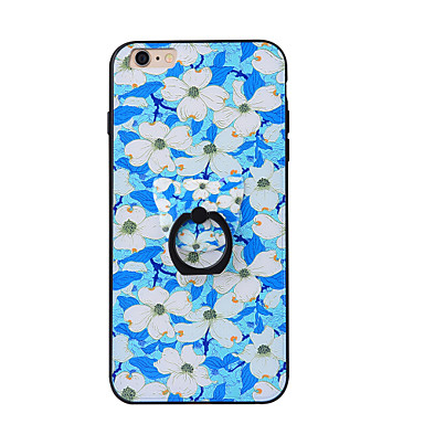 Varten Sormuksen pidike Etui Takakuori Etui Kukka Kova PC varten AppleiPhone 7 Plus iPhone 7 iPhone 6s Plus iPhone 6 Plus iPhone 6s