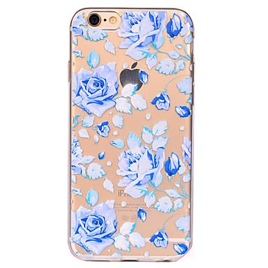 Na Przezroczyste Wzór Kılıf Etui na tył Kılıf Kwiat Miękkie TPU na AppleiPhone 7 Plus iPhone 7 iPhone 6s Plus iPhone 6 Plus iPhone 6s