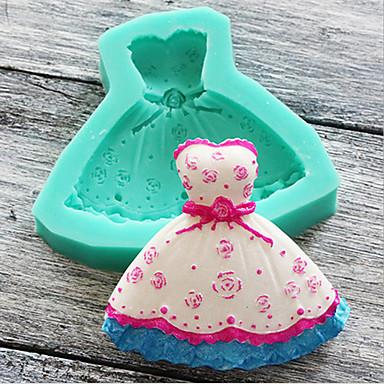 Forma do pieczenia Kwiat Cartoon Shaped Koronkowe o cukierki Czekoladowy Tort Silikonowy Przyjazne dla środowiska Święta Ślub Urodziny