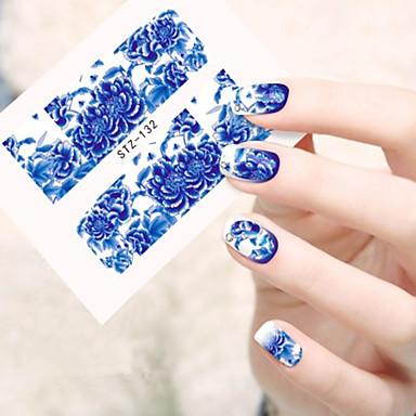 10pcs/set Nail Art autocolant Aplicația de transfer de apă machiaj cosmetice Nail Art Design