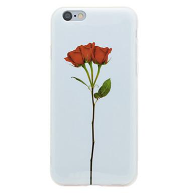 Käyttötarkoitus iPhone 8 iPhone 8 Plus kotelot kuoret IMD Kuvio Takakuori Etui Kukka Pehmeä TPU varten Apple iPhone 8 Plus iPhone 8