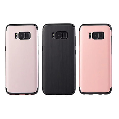 Kılıf Na Samsung Galaxy S8 Plus S8 Odporne na wstrząsy Czarne etui Solid Color Miękkie TPU na S8 Plus S8