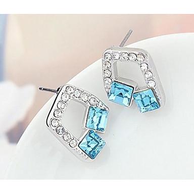 Damskie Kolczyki na sztyft Kryształ Spersonalizowane Słodkie Style euroamerykańskiej Biżuteria Na Ślub Impreza Urodziny