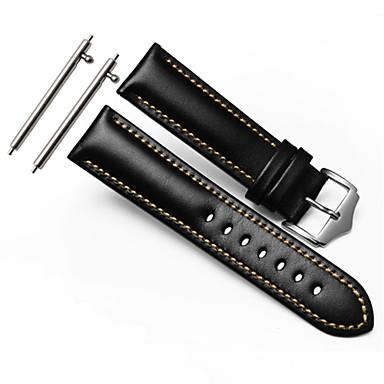 Watch Band na Gear S3 Frontier Gear S3 Classic Samsung Galaxy Pasek sportowy Klasyczna klamra Skóra Opaska na nadgarstek