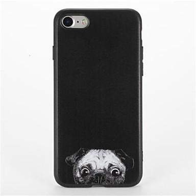 Için Temalı Pouzdro Arka Kılıf Pouzdro Köpek Yumuşak TPU için Apple iPhone 7 Plus iPhone 7 iPhone 6s Plus iPhone 6 Plus iPhone 6s iphone 6