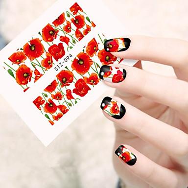 10pcs/set Nail Art Samoprzylepna Naklejka na wodę Kosmetyki do makijażu Nail Art Design