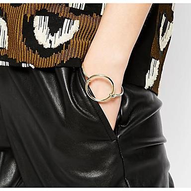 للمرأة أساور مجوهرات موضة نحاس Geometric Shape مجوهرات حزب مناسبة خاصة