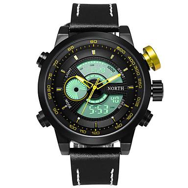 Męskie Zegarek cyfrowy Unikalne Kreatywne Watch Zegarek na nadgarstek Wojskowy Sportowy Chiński Kwarcowy Cyfrowe Wodoszczelny LED Duża