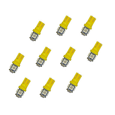 10pcs T10 Auto Lamput 0.8W W SMD 5050 55lm lm LED Suuntavilkku ForUniversaali
