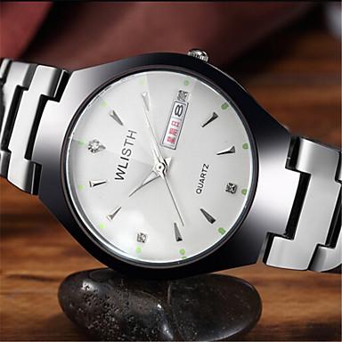 Heren Polshorloge Modieus horloge Kwarts Hot Sale Leer Band Informeel Bruin