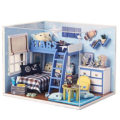 Music Box Zabawki DIY Kwadrat Drewniany Sztuk Dla dzieci Dla obu płci Urodziny Prezent