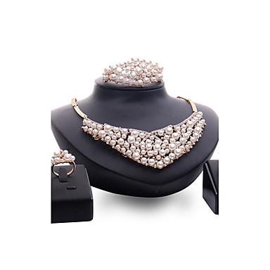 Pentru femei Seturi de bijuterii Imitație de Perle Ștras Personalizat Vintage Modă Euramerican Bijuterii Statement Nuntă Petrecere Ocazie