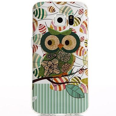 Maska Pentru Samsung Galaxy S8 Plus S8 IMD Model Carcasă Spate Bufniţă Desene Animate Moale TPU pentru S8 S8 Plus S7 edge S7