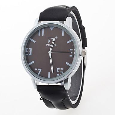 للرجال ساعات فاشن ساعة كاجوال صيني كوارتز معدن جلد فرقة سحر متعدد الألوان