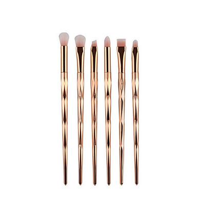 6 Perie  Fard Perie pentru sprâncene Păr sintetic Acoperire Integrală Plastic Ochi