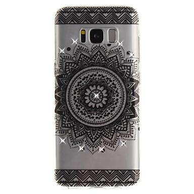 غطاء من أجل Samsung Galaxy S8 Plus S8 حجر كريم IMD شفاف غطاء خلفي ماندالا نمط ناعم TPU إلى S8 S8 Plus S7 edge S7