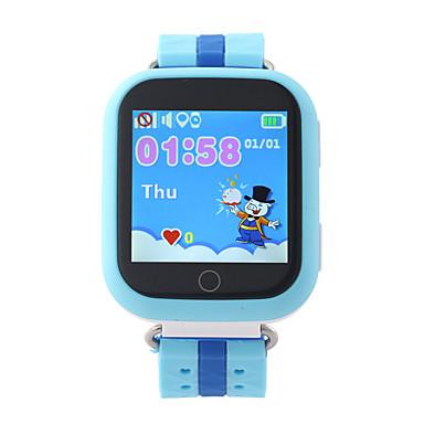 الساعات الاطفال GPS شاشة لمس مقاوم للماء عداد الخطى الجامعة، لون القهوة متعددة الوظائف مكالمات بدون يد مكافحة خسر سياج الكتروني إنذار