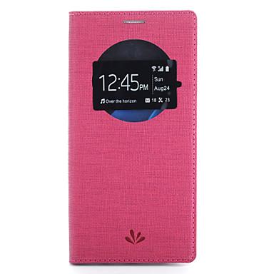 Maska Pentru Samsung Galaxy S7 edge S7 Titluar Card Cu Stand cu Fereastră Corp Plin Culoare solidă Greu PU Piele pentru S7 edge S7
