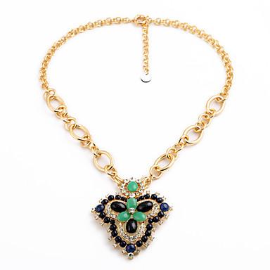 Kadın's Uçlu Kolyeler Kristal Moda Kişiselleştirilmiş sevimli Stil Euramerican Siyah Mücevher Için Düğün Parti 1pc