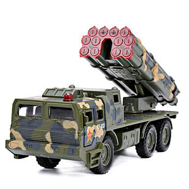 شاحنة الصواريخ لعبة الشاحنات ومركبات البناء لعبة سيارات 1: 100 الموسيقى والضوء بلاستيك للجنسين للأطفال ألعاب هدية