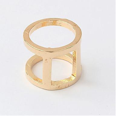 Γυναικεία Δαχτυλίδι Μοντέρνα Εξατομικευόμενο Euramerican Κράμα Circle Shape Κοσμήματα Για Καθημερινά Causal