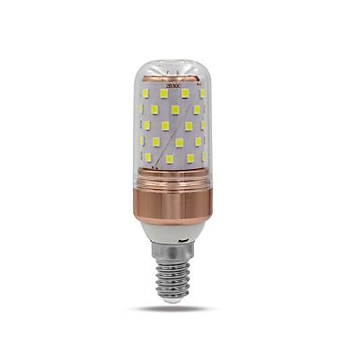 10W 1000lm E14 E26 / E27 أضواء LED Bi Pin T 60 الخرز LED SMD 2835 أبيض دافئ أبيض