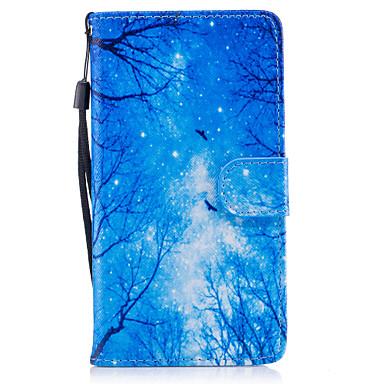 Kılıf Na Samsung Galaxy J5 (2016) Portfel Etui na karty Z podpórką Flip Magnetyczne Wzór Futerał Drzewo Twarde Sztuczna skóra na J5