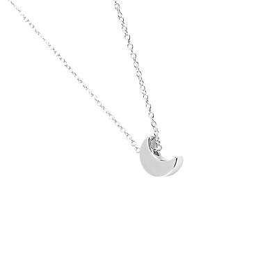 Kadın's Uçlu Kolyeler Mücevher minimalist tarzı Moda Kişiselleştirilmiş Euramerican Altın Gümüş Mücevher Için Düğün Parti 1pc