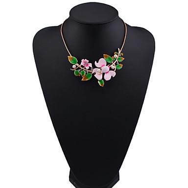 للمرأة فروع القلائد مجوهرات مجوهرات الأحجار الكريمة الاصطناعية سبيكة موضة euramerican في مجوهرات من أجل حزب هدية