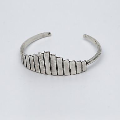 Damskie Bransoletki cuff Modny Stop Triangle Shape Silver Biżuteria Na Impreza 1 szt.