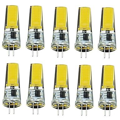 2W G4 LED Φώτα με 2 pin T 1 LEDs COB Διακοσμητικό Θερμό Λευκό Ψυχρό Λευκό 250lm 2700-3000/6000-6500K AC220V